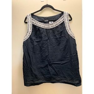 Embroidered Old Navy Sleeveless top
